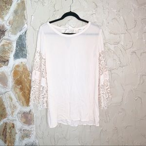 Umgee Bell Sleeve Boho Lace Cover